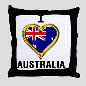 I HEART XX Throw Pillow